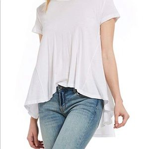 Free people it's your tee. High low top